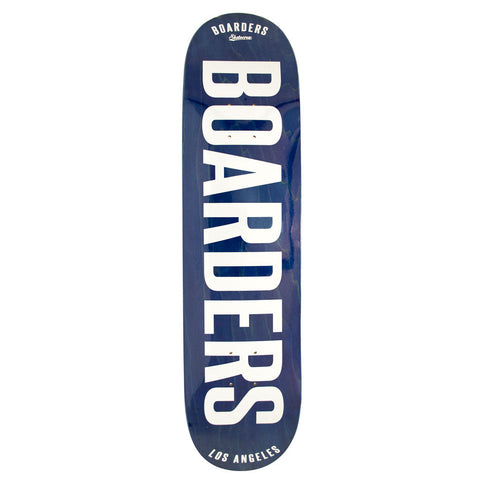 Boarders Bold Blue Skateboard Deck