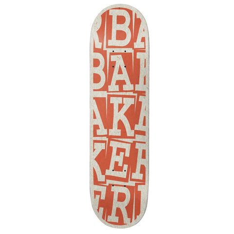 "Baker TP Ribbon Stack Rust 8.38"" Deck"