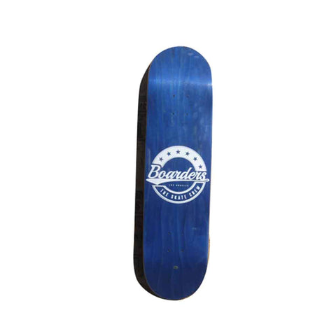 Boarders Star Crest Skateboard Deck - Blue Bottom