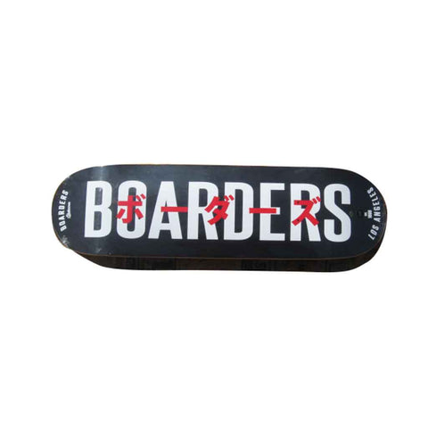 Boarders JPN Bold Skateboard Deck - Black