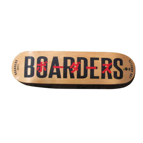 Boarders JPN Bold Skateboard Deck - Natural Bottom