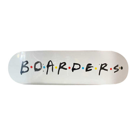Boarders Cast Deck - White
