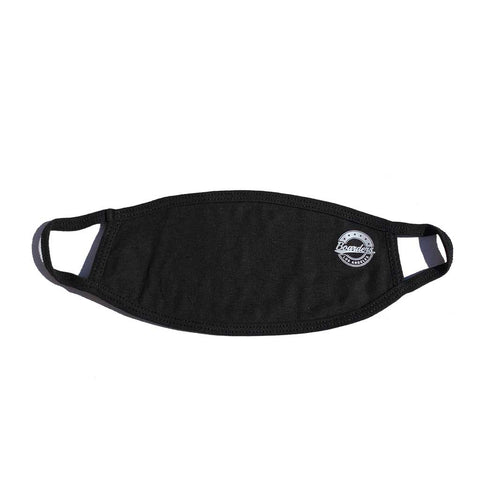 Boarders Crest Face Mask - Black