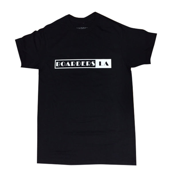 Boarders Cinema Tee -  Black