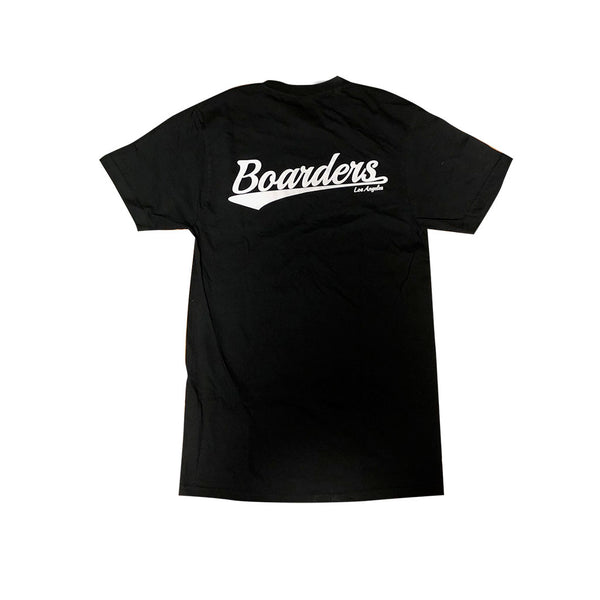 Boarders Mini Script Tee - Black Back