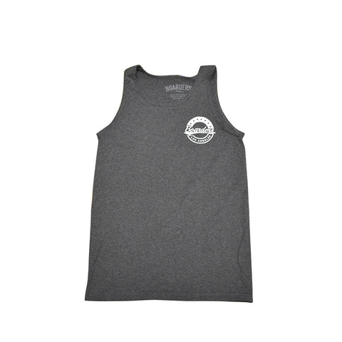 Boarders Starcrest Tank Top - Dark Grey