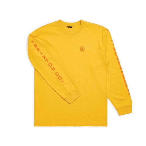 Brixton Frame L/S - Yellow Front