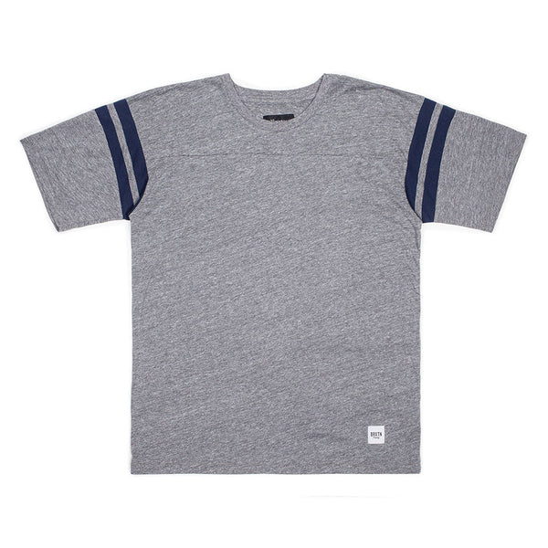 Brixton Brea S/S Knit - Heather Grey
