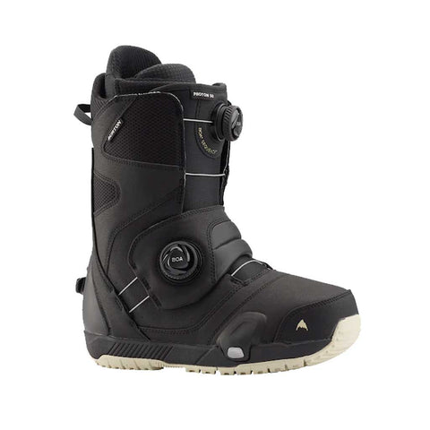 Burton 20/21 Photon Step on Wide Boot - Black & Binding Set Side