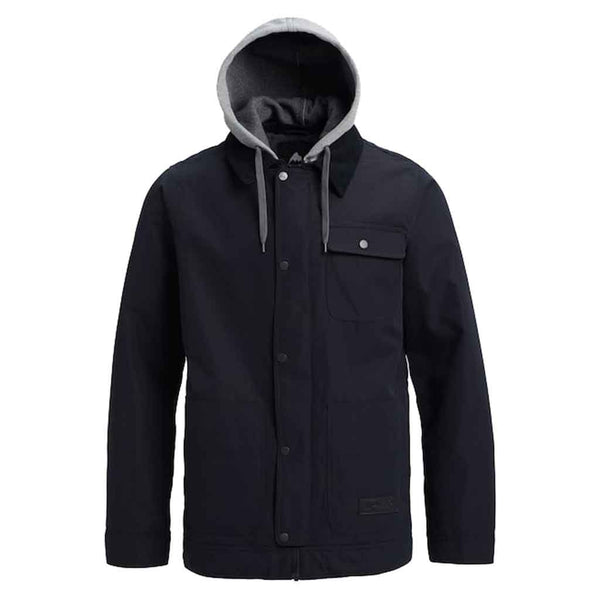 Burton 18/19 Dunmore Jacket - True Black Front