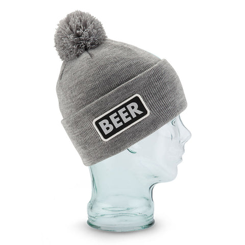 Coal Vice Beanie Beer - Heather Side