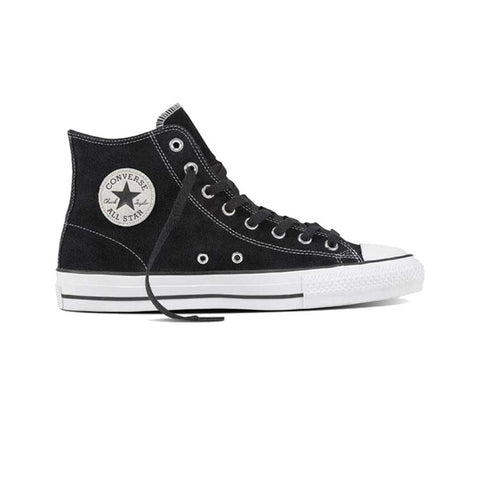 Converse CTAS Pro Hi - Black/White/Suede Side