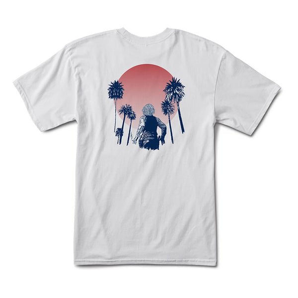 Cortina Bearings Sun Set Tee - White Back