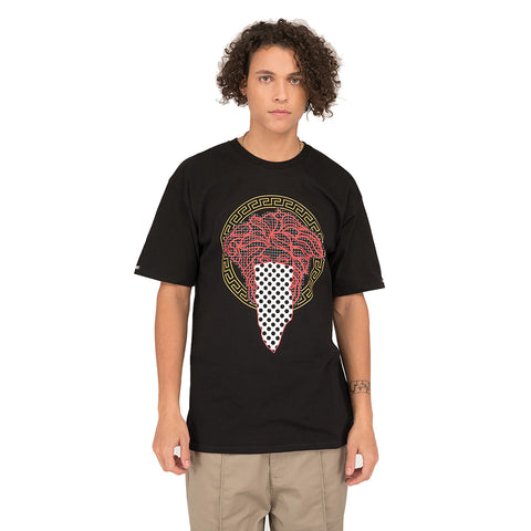 Crooks and Castles Bandito Dot Tee - Black Front