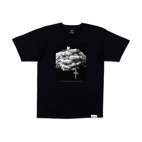 Diamond Mercy T-shirt - Black Front