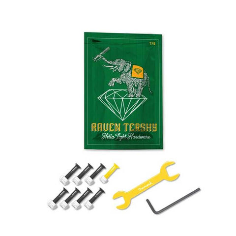 "Diamond 7/8"" Raven Tershy Pro Hardware - Yellow"
