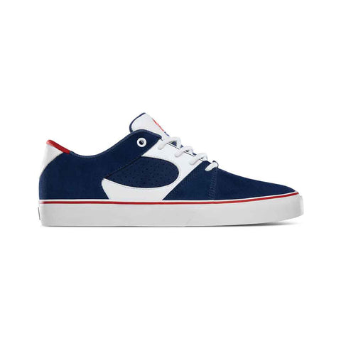 eS Square Three - Navy/White/Red Side