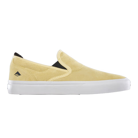 Emerica Wino G6 Slip on - Yellow/White Side
