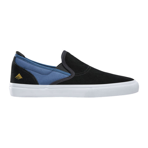 Emerica Wino G6 Slip-on - Black/Blue Side