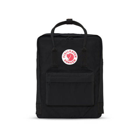 Fjallraven Kanken Backpack - Black Front