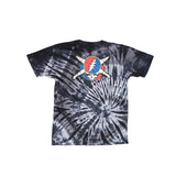 Fourstar Jerry Pirate Tie Dye Tee - Charcoal Back