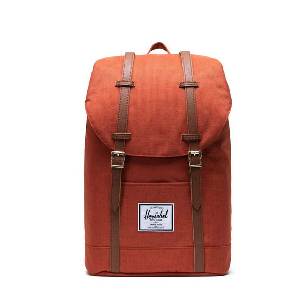 Herschel Retreat Backpack - Picante Crosshatch Front