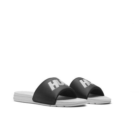 Huf Slide - Black/White 10k