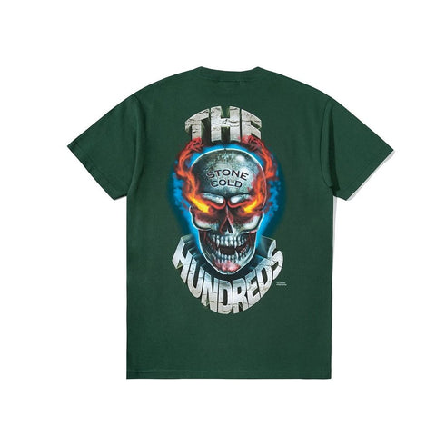 The Hundreds x WWE Austin 3:16 Tee - Forest Back