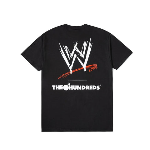 The Hundreds x WWE T-shirt - Black Back