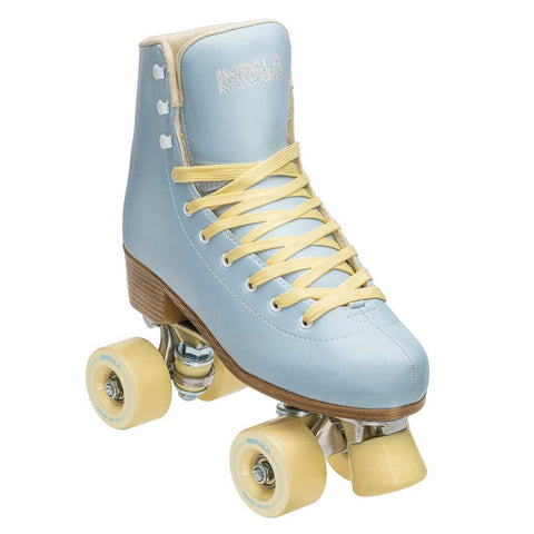 Impala Quad Skate - Sky Blue/Yellow
