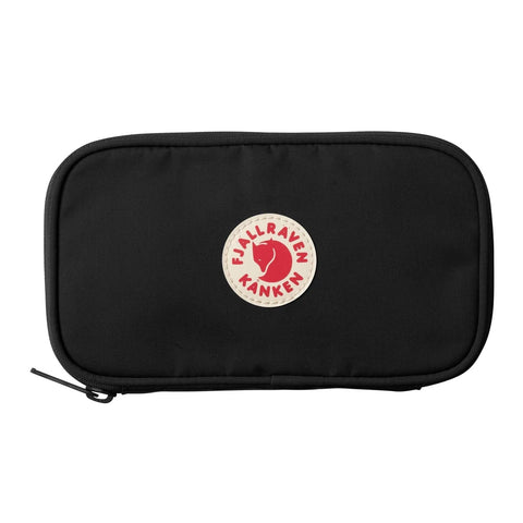 Fjallraven Kanken Travel Wallet - Black Front