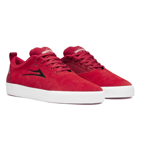 Lakai x Independent Bristol - Red Suede Side