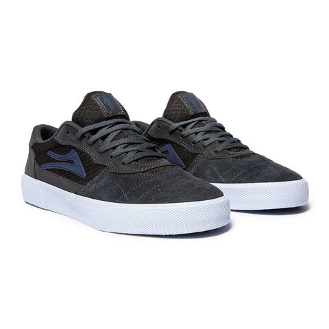 Lakai x Girl Cambridge SMU Shoes - Grey/Reflective Front