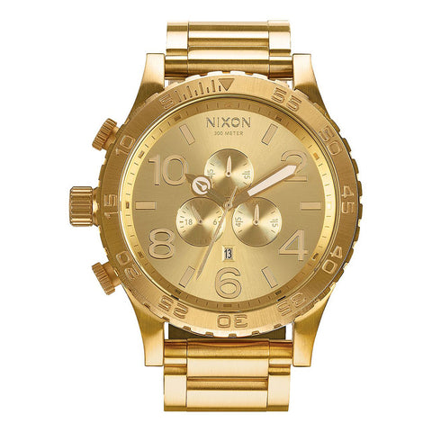 Nixon 51-30 Chrono - All Gold