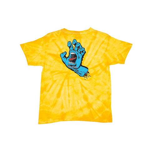 Santa Cruz Youth Classic S/S Tee - Spider Gold Back