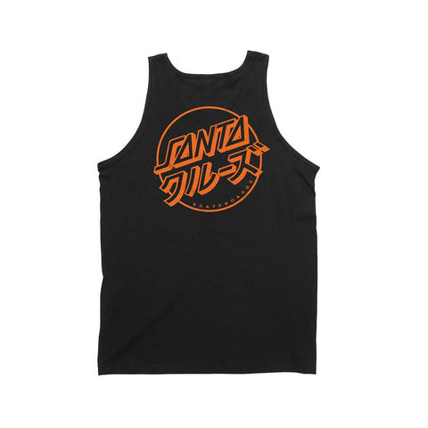 Santa Cruz Mixed Up Dot Tank - Black Back