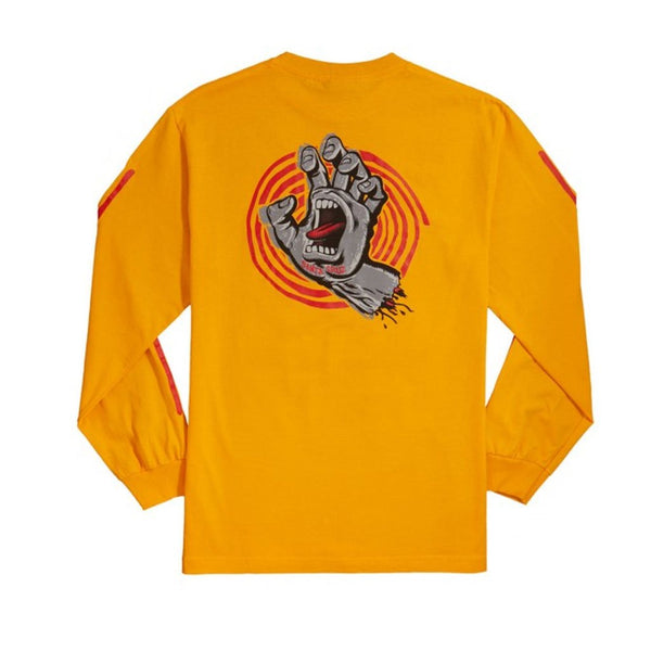Santa Cruz Off Hand L/S Tee - Gold Back