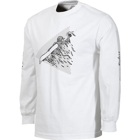 Sketchy Tank Storm Riders L/S - White