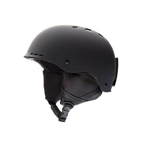 Smith 18/19 Holt Helmet - Matte Black Side