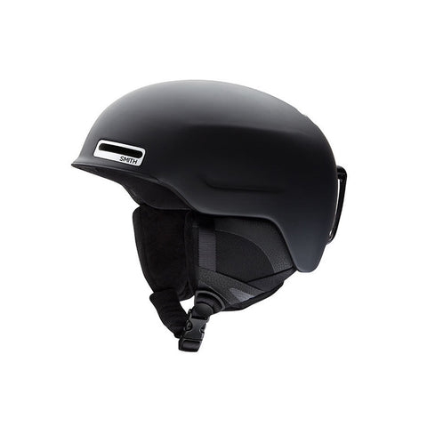 Smith 18/19 Maze Helmet Asian Fit - Matte Black Side
