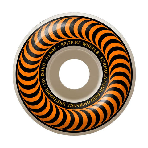 Spitfire F4 101 Classic 53mm Wheels Orange