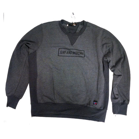 Surf & Motors Sweat - Charcoal