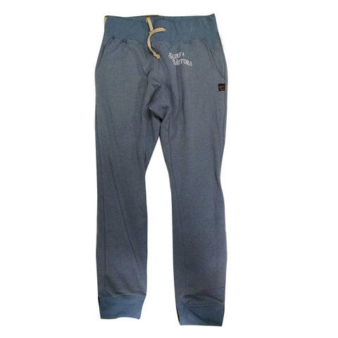 Surf & Motors Sweat Pants - Heather Blue
