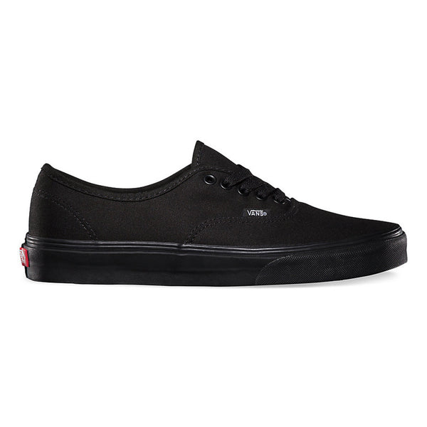 Vans Authentic Shoes - Black/Black Outer Side