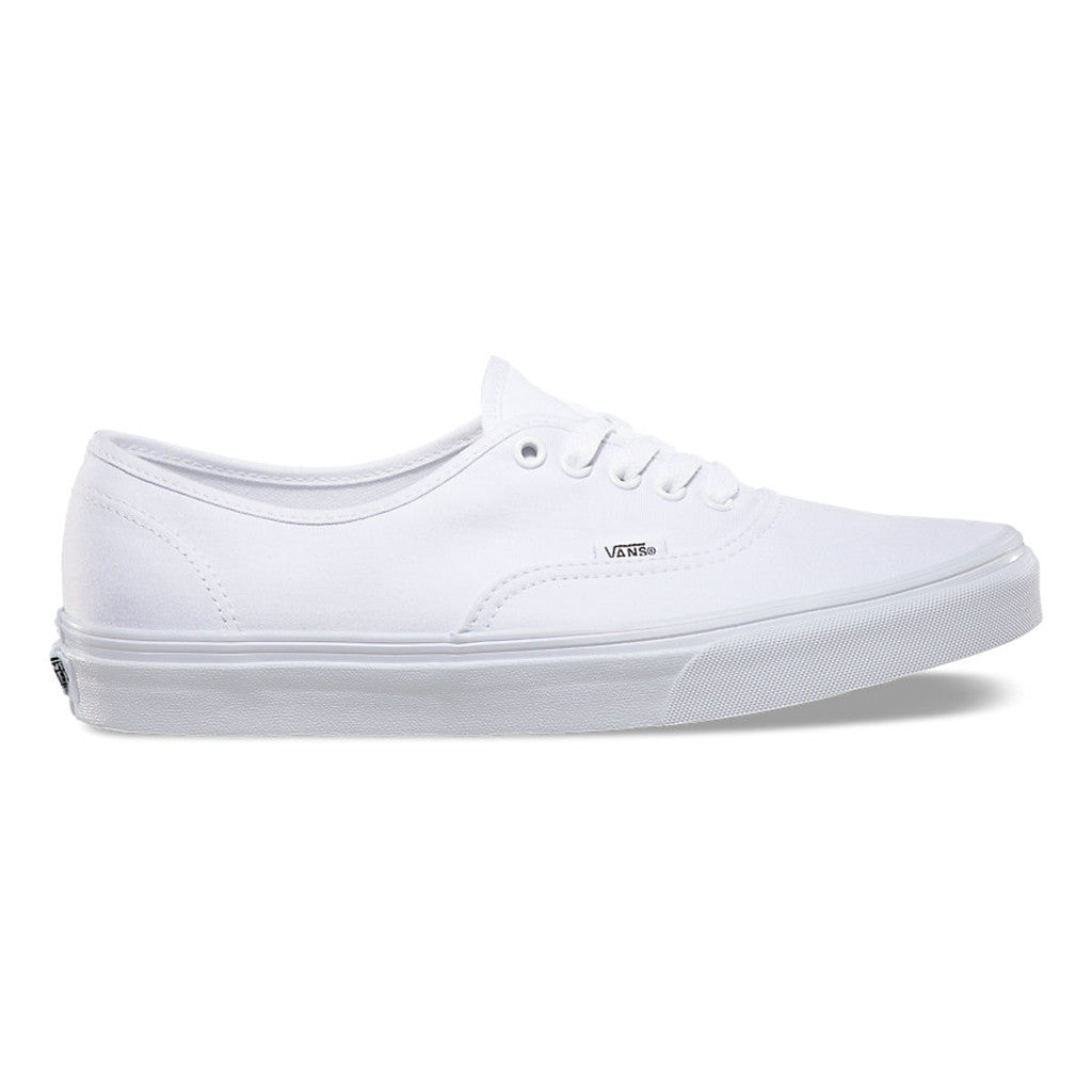 1bb5db9065ee9a Vans Authentic Shoes - True White | Boarders
