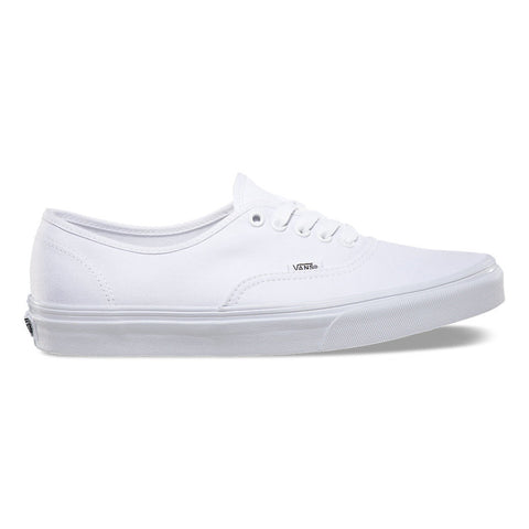 Vans Authentic Shoes - True White Outer Side