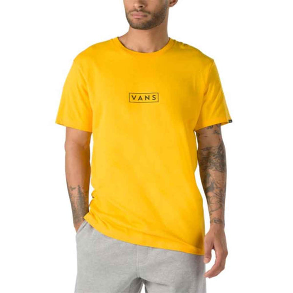 Vans Easy Box SS Tee - Gold Front
