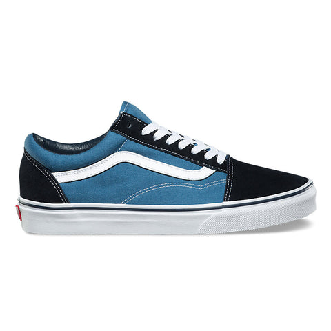 Vans Old Skool Shoes - Navy/White
