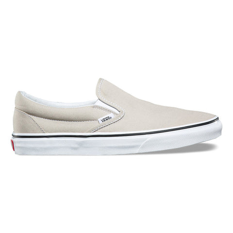 Vans Slip-on Shoes - Silver Lining/True White Outer Side