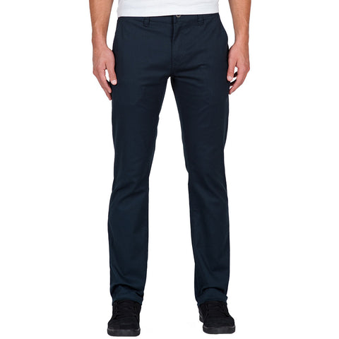 Volcom Frickin Modern Stretch Chino Pants - Dark Navy